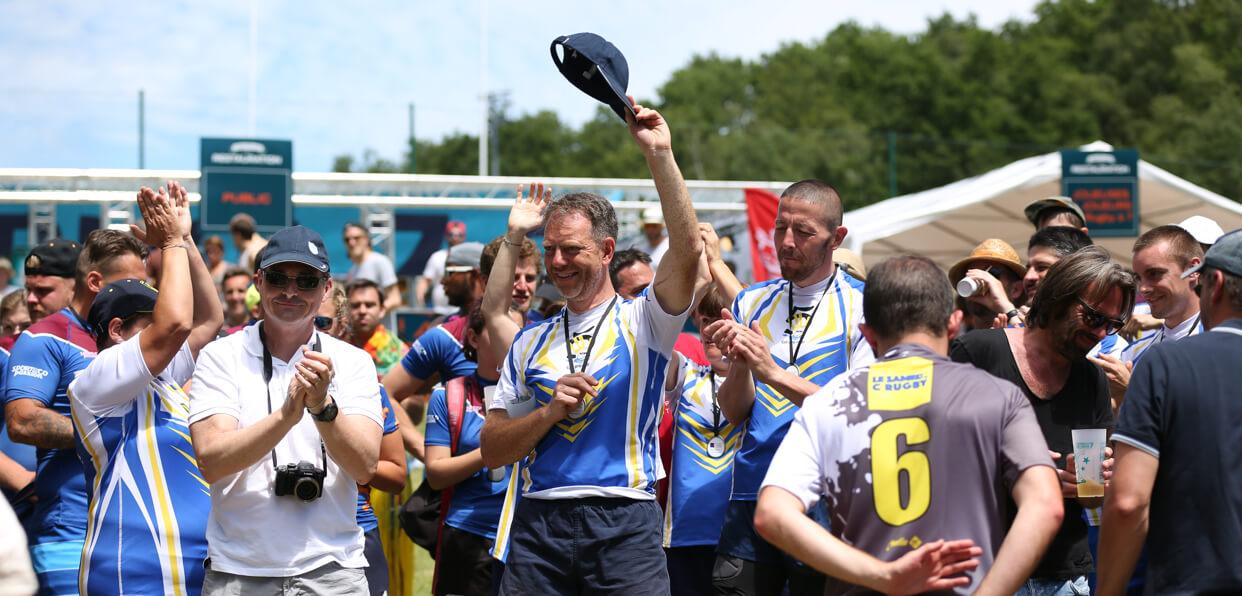 Soutenir l'organisation d'un tournoi de rugby solidaire