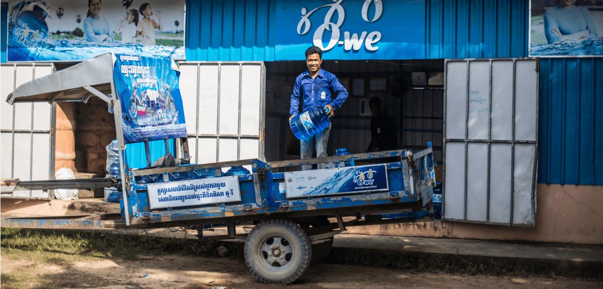 Donner accès à vie à l'eau potable