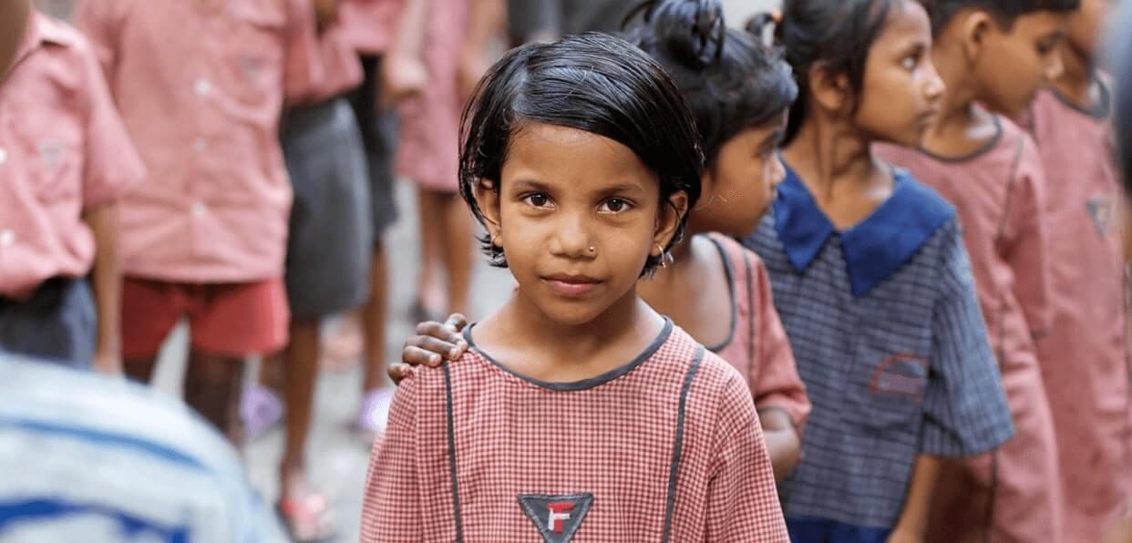 Scolariser des enfants des bidonvilles de Calcutta