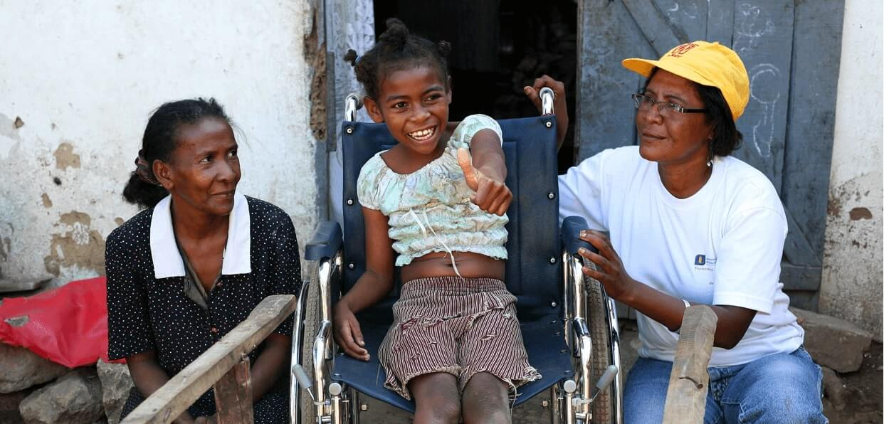 Donner accès au service de réadaptation à Madagascar