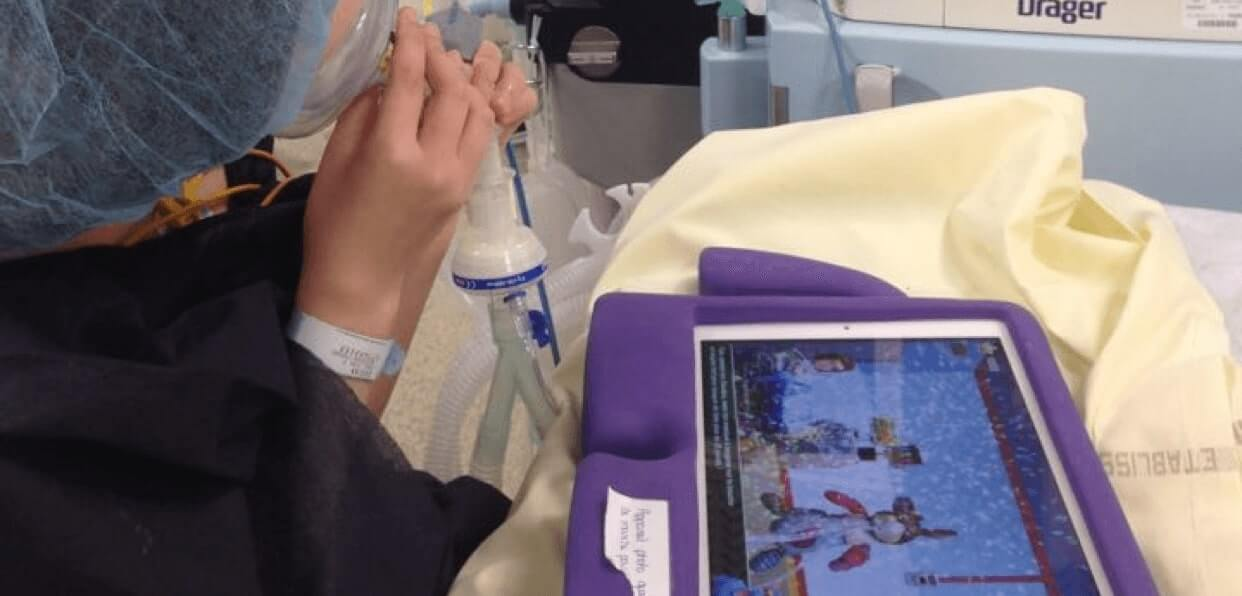 Soutenir l'enfant lors de son passage au bloc opératoire