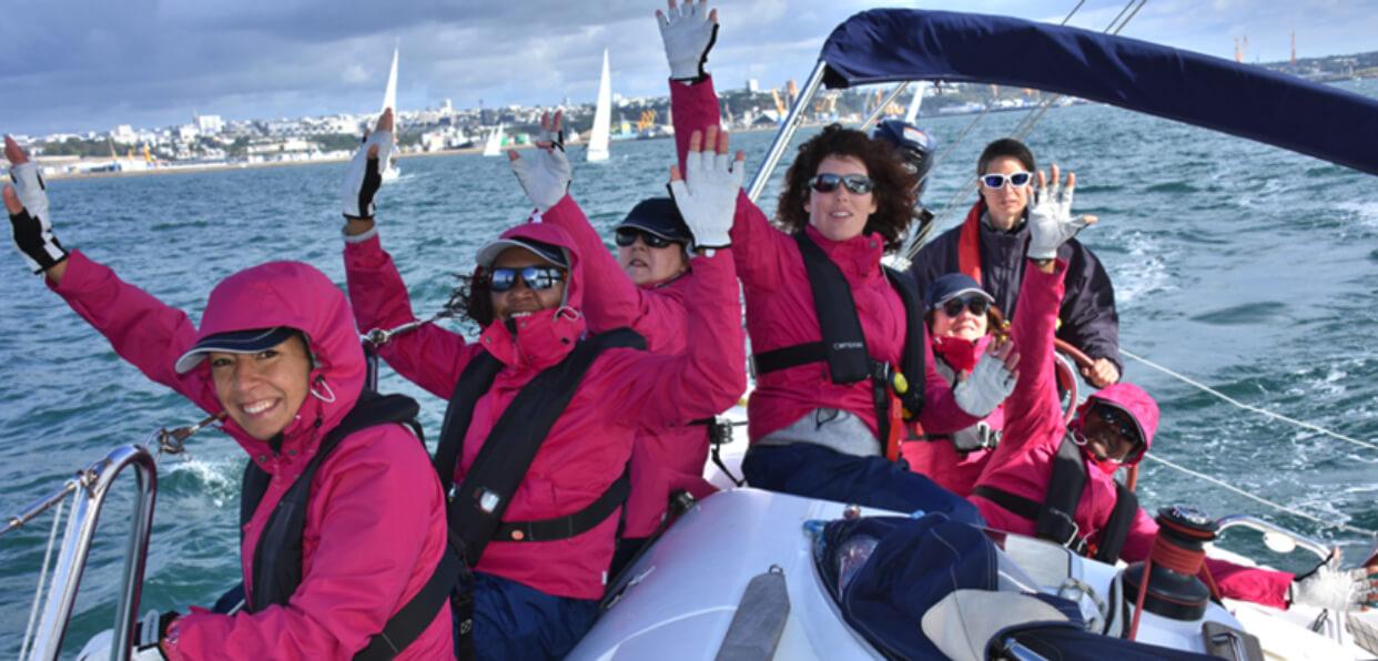 Faire participer des femmes en situation de handicap à une régate