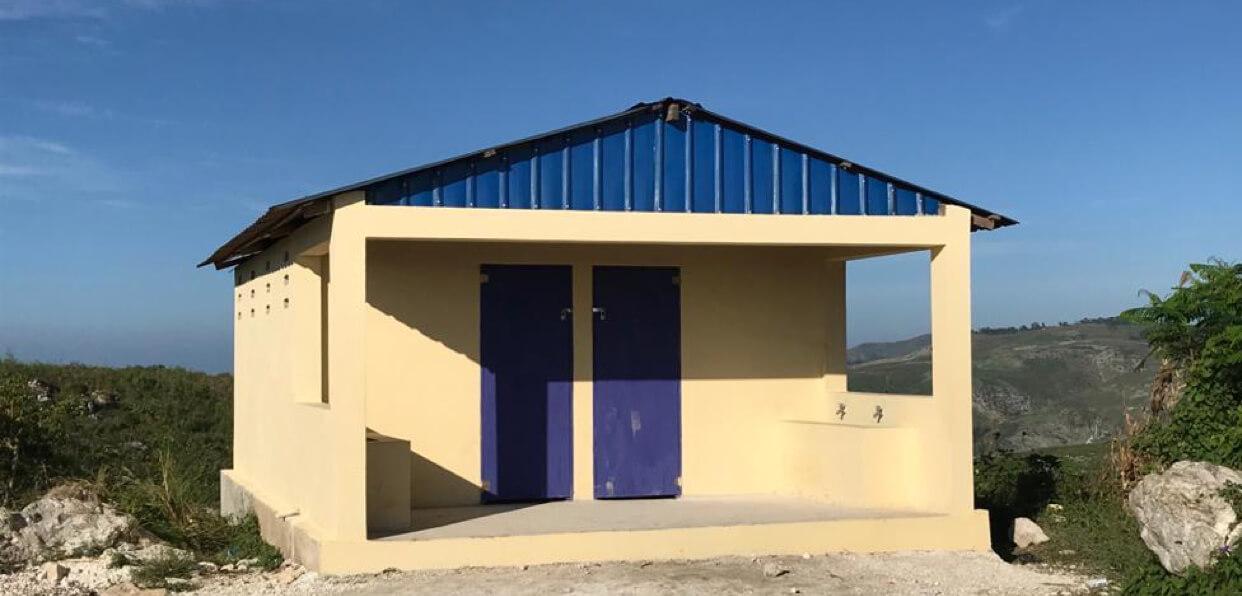 Améliorer les conditions d'hygiène de 550 élèves en Haïti